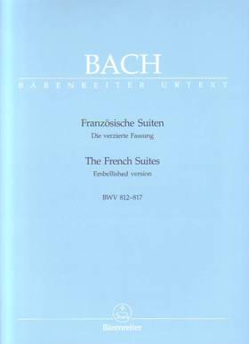 J. S. Bach - FRANZÖSISCHE SUITEN BWV 812-817 FÜR KLAVIER URTEXT (ALFRED DÜRR)