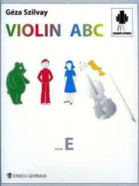 SZILVAY GÉZA - VIOLIN ABC BOOK E