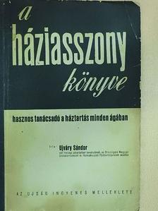 Ujváry Sándor - A háziasszony könyve [antikvár]