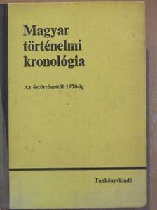 Benczédi László - Magyar történelmi kronológia [antikvár]