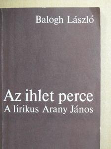 Balogh László - Az ihlet perce [antikvár]