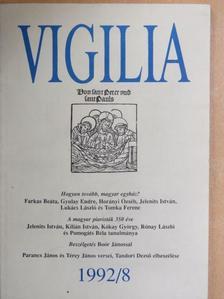 Bárdos László - Vigilia 1992. augusztus [antikvár]