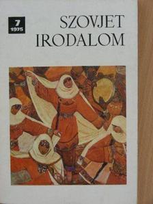 Bárdos Pál - Szovjet Irodalom 1975/7. [antikvár]