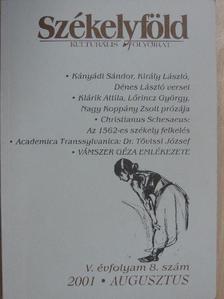 Benkő Levente - Székelyföld 2001. augusztus [antikvár]