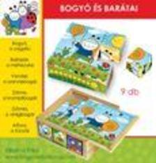 Bogyó és Babóca: Bogyó és barátai 9 db-s fakocka