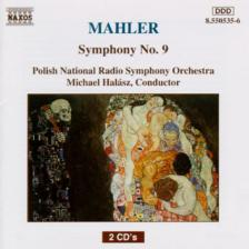 MAHLER - SYMPHONY NO.9 2CD MICHAEL HALÁSZ