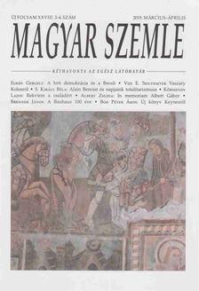 Gróh Gáspár (szerk.) - Magyar Szemle 2019. március-április [antikvár]