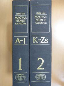 Halász Előd - Magyar-német nagyszótár 1-2. [antikvár]