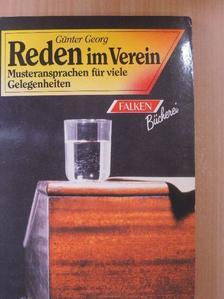 Günter Georg - Reden im Verein [antikvár]