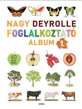Nagy Deyrolle foglalkoztató album 1.+ 40 színes matricával