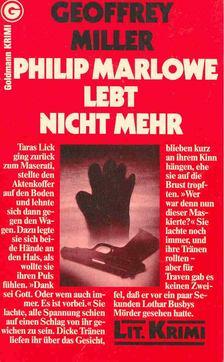 Geoffrey Miller - Philip Marlowe lebt nicht mehr (Eredeti cím: The Black Glove) [antikvár]