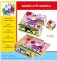Bogyó és Babóca: Babóca és barátai 9 db-s fakocka