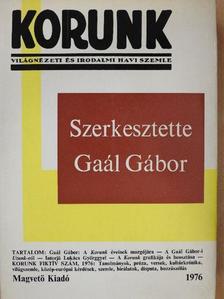 Ady Endre - Korunk 1976. [antikvár]