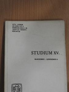 Bánfalvi Attila - Studium XV. [antikvár]