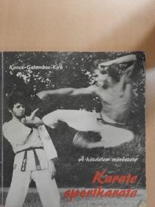 Galambos Péter - Karate-sportkarate [antikvár]