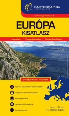"""Cartographia - EURÓPA KISATLASZ - 1:1.500.000 - CART. """"SC"""""""