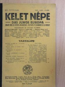 Bartóky József - Kelet Népe 1927. jan.-febr. [antikvár]