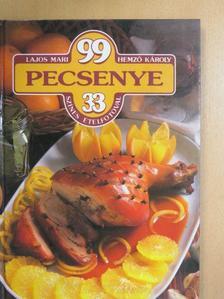 Hemző Károly - 99 pecsenye 33 színes ételfotóval [antikvár]