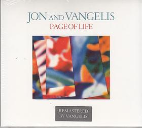 PAGE OF LIFE - JON AND VANGELIS CD