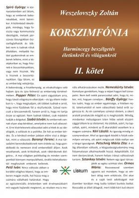 Weszelovszky Zoltán - Korszimfónia - Harmincegy beszélgetés életünkről és világunkról [eKönyv: epub, mobi]
