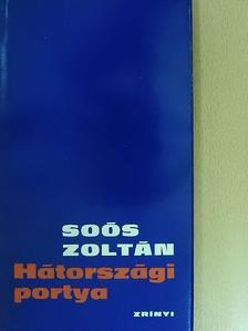 Soós Zoltán - Hátországi portya [antikvár]