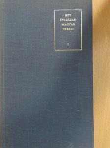 Ábrányi Emil - Hét évszázad magyar versei I. (töredék) [antikvár]
