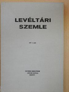 Barcza Tibor - Levéltári Szemle 1977. május-augusztus [antikvár]