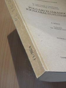 Dr. Gátos György - Polgári eljárásjogi jogszabálygyűjtemény II. (töredék) [antikvár]
