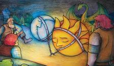 Népmese. Válogatta: Bajzáth Mária - A Nap és a Hold (cigány mesék) - DIAFILM