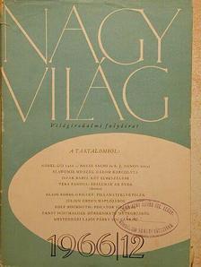 Iszak Babel - Nagyvilág 1966. december [antikvár]