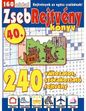 CSOSCH KIADÓ - ZsebRejtvény Könyv 40. ###