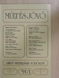 Arnaldo Momigliano - Múlt és Jövő 1991/1. [antikvár]