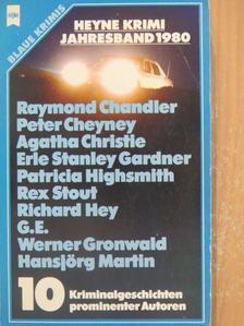 Agatha Christie - Heyne Krimi Jahresband 1980 [antikvár]