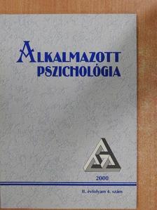 Balogh László - Alkalmazott Pszichológia 2000/4. [antikvár]