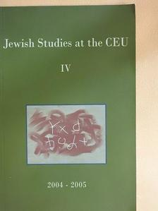 Frank Stern - Jewish Studies at the Central European University IV. [antikvár]