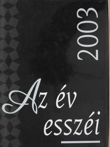 Ács Margit - Az év esszéi 2003 [antikvár]