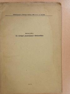 Zolnai Béla - Az európai janzenizmus történetéhez (aláírt példány) [antikvár]