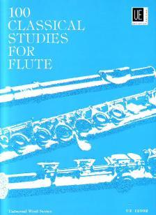 100 CLASSICAL STUDIES FOR FLUTE (FRANS VESTER)