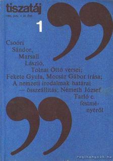 Vörös László - Tiszatáj 1985. január 39. évf. 1. [antikvár]