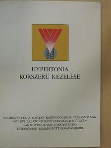 Csobály Sándor - Hypertonia korszerü kezelése [antikvár]