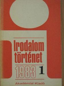Bécsy Ágnes - Irodalomtörténet 1983/1. [antikvár]