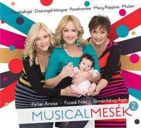 MUSICALMESÉK 2. CD