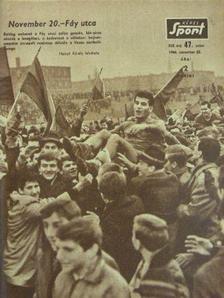 Kéri László - Képes Sport 1966. november 22. [antikvár]