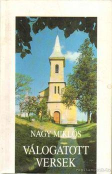 Nagy Miklós - Válogatott versek [antikvár]