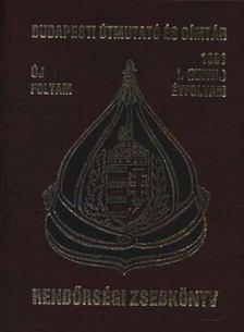 Pintér Sándor - Rendőrségi zsebkönyv 1991. 1.(XXVII) évfolyam [antikvár]