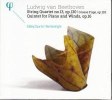 BEETHOVEN - STRING QUARTET NO.13,CD EDDING QUARTET