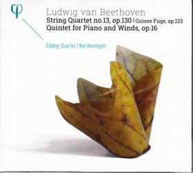 BEETHOVEN - STRING QUARTET NO.13,CD EDDING QUARTET