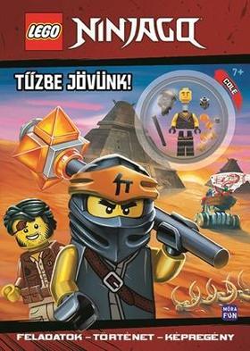 LEGO Ninjago Tűzbe jövünk! - ajándék Cole minifigurával