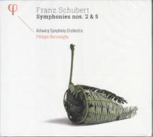 SCHUBERT - SYMPHONIE NO 2&5,CD