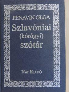 Penavin Olga - Szlavóniai (kórógyi) szótár [antikvár]